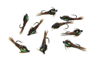 A.Jensen 14139 Мушка нимфа Pheasant Tail Neon(FB Pheasant Tail) (фото, вид 1)