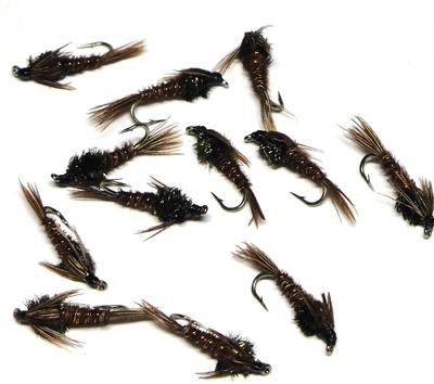 A.Jensen 14140 Мушка нимфа Pheasant Tail Nymph (фото, вид 1)