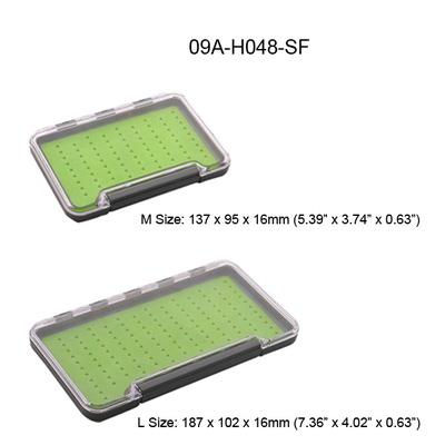 TimeGo 81027 Коробочка для мушек Slim Box with Silicone Pad (фото, вид 2)