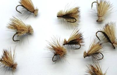 Pacific Fly Group 11093 Сухая мушка Elk Hair Caddis Gray (фото, вид 1)
