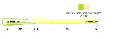 SCIENTIFIC ANGLERS™ 10380 Удлиняющий шнур-ранинг Shooting Line with ''Dragon Tail'' (фото, вид 1)