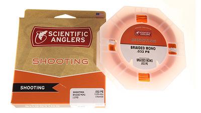 SCIENTIFIC ANGLERS™ 10306 Нахлыстовый шнур Braided PE Mono Shooting Line (фото, вид 1)