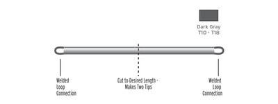 SCIENTIFIC ANGLERS™ 10398 Тонущий конец Custom Cut Express Tips (фото, вид 1)