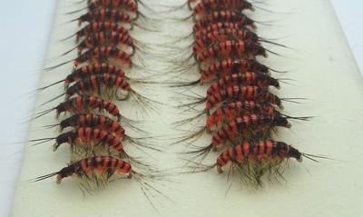 SFT-studio 14035 Мушка имитация бокоплава Freshwater Shrimp Orange Striped (фото, вид 3)