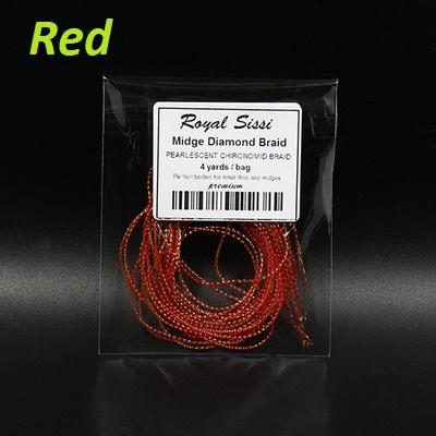 Royal Sissi 52215 Материал для тела мушки Midge Diamond Braid (фото, вид 12)