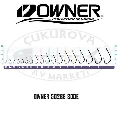 Owner 60128 Крючок одинарный 50286 Sode Ring (фото, вид 1)