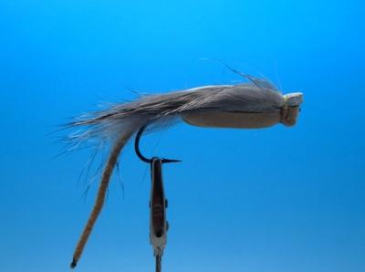 SFT-studio 11022 Сухая мушка Foam Faked Mouse Gray (фото, вид 2)