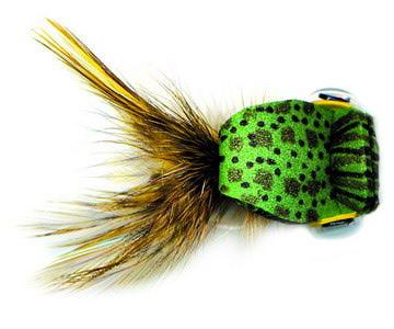 Pacific Fly Group 15382 Имитация лягушки Chip's Peeper Frog Olive (фото, вид 3)