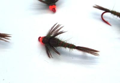Pacific Fly Group 14111 Мушка нимфа Jenning's Hot Skawala (фото, вид 3)