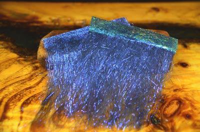 Hareline 54007 Синтетическое волокно Ice Dub Shimmer Fringe (фото, вид 4)