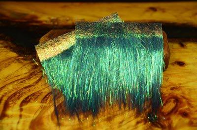 Hareline 54007 Синтетическое волокно Ice Dub Shimmer Fringe (фото, вид 8)