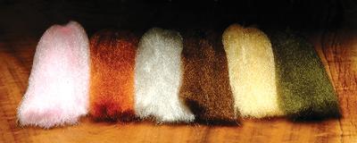Hareline 54031 Синтетическое блестящее волокно Ice Fur (фото, вид 2)