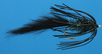 Rusangler 16056 Лососевая мушка GW Glory Steelhead Black (фото, вид 1)