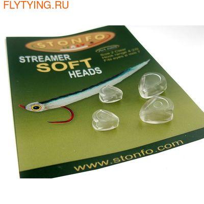STONFO™ 58154 Реалистичные головки из мягкого пластика для стримеров STREAMER SOFT HEADS (фото, STONFO™ STREAMER SOFT HEADS)