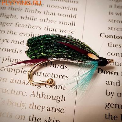 Veniard 93012 Брошь для декоративной мушки Salmon Fly Small Brooch Pins (фото, Veniard Salmon Fly Small Brooch Pins)