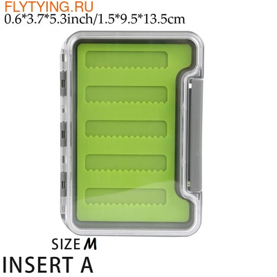 TimeGo 81027 Коробочка для мушек Slim Box with Silicone Pad (фото, вид 5)