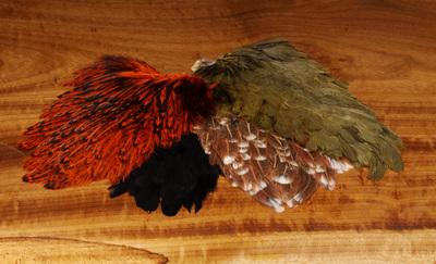 WAPSI 53145 Куриное седло Soft Hackle Hen Saddle Patches (фото, вид 1)