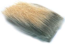 Hareline 52355 Мех лося Natural Elk Hair (фото, вид 1)