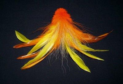 Hareline 53154 Петушиные перья из седла Schlappen (фото, вид 4)