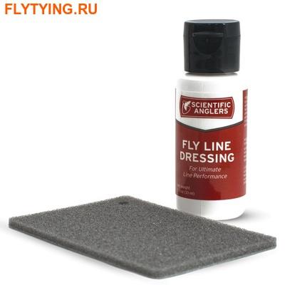SCIENTIFIC ANGLERS™ 10771 Средство для ухода за нахлыстовым шнуром Line Dressing w/pad