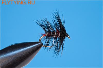 Rusangler 13017 Мокрая мушка Bibio Red