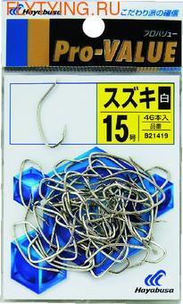 Hayabusa 60150 Крючок одинарный B21419 (фото)