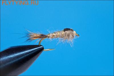 Rusangler 14020 Мушка имитация нимфы поденки GR Hare's Ear