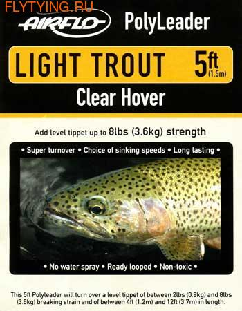 Airflo 10511 Полилидер Light Trout Poly Leader 5ft