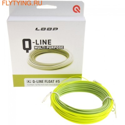 Loop 10501 Нахлыстовый шнур Q-line (фото, Loop 10501 Нахлыстовый шнур Q-line)