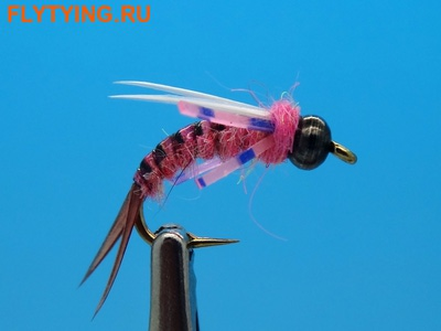 SFT-studio 14045 Мушка нимфа BH Prince Nymph Rubber Leg Pink (фото)