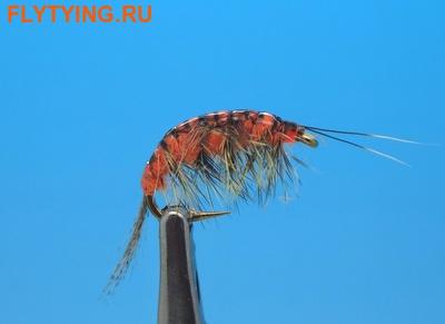 SFT-studio 14035 Мушка имитация бокоплава Freshwater Shrimp Orange Striped (фото)