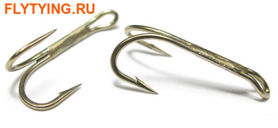 Kamasan 60071 Двойной крючок B270 Fly Hook - Trout Double Tradtional