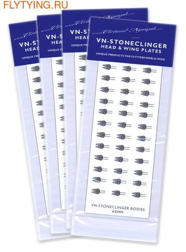 VIRTUAL NYMPH 58315 Имитация зачатков крыльев нимф поденок Stoneclinger Head and Wing Plates (фото)