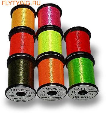 UNI 55005 Шелк суперярких расцветок UNI-Floss Neon