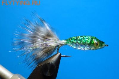 A.Jensen 15102 Мушка стример Twinkle Tube Fish Green (фото)