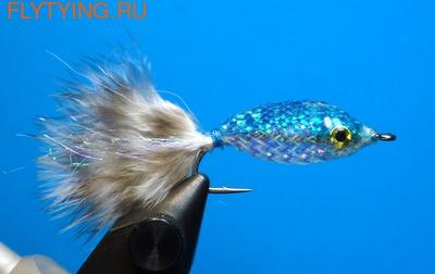 A.Jensen 15103 Мушка стример Twinkle Tube Fish Blue (фото)
