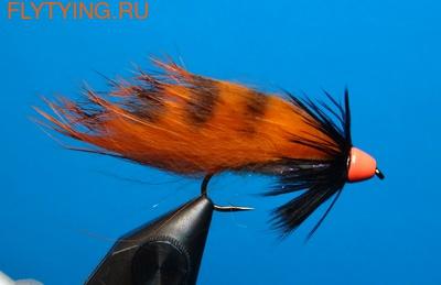 A.Jensen 15122 Мушка стример Zonker Cone Orange (фото)