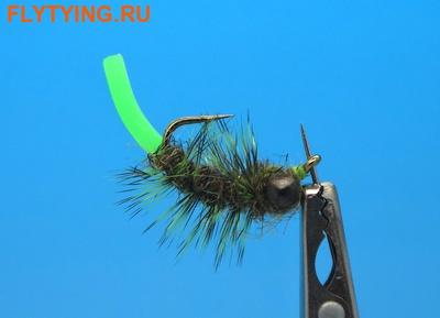 SFT-studio 14051 Мушка нимфа Squirm Tasty Bug Olive/Chart (фото)