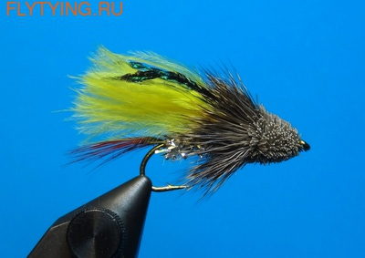 A.Jensen 15136 Мушка стример Muddler Marabou Yellow (фото)