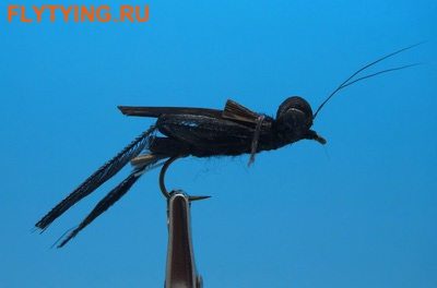 Pacific Fly Group 11128 Сухая мушка BMAR Hopper Black (фото)