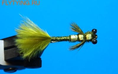 A.Jensen 14203 Мушка нимфа Olive Damsel (фото)