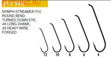 Hayabusa 60163 Крючок одинарный FLY753