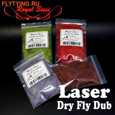 Royal Sissi 57053 Синтетический даббинг Laser Dry Fly Dub (фото)