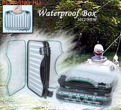 SFT-studio 81040 Коробка-кейс для крупных мушек Waterproof Super Large Fly Suit Case (фото)