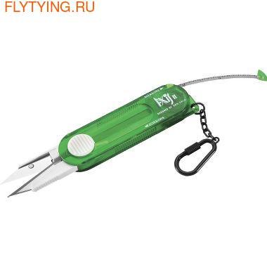 Anglers Image 41390 Комбинированный инструмент Retractadle Scissors With Tape Measure