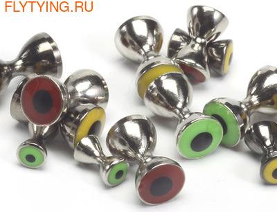 FLY-FISHING 58060 Латунные глаза со вставками Pseudo Eyes