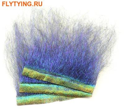 Hareline 54007 Синтетическое волокно Ice Dub Shimmer Fringe (фото)