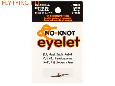 Kipper Enterprises, Inc. 10825 Конектор No-Knot Eyelet (фото)