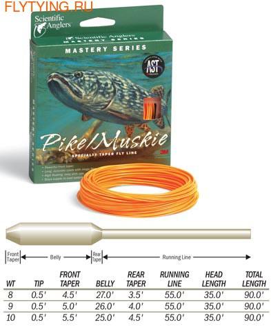 SCIENTIFIC ANGLERS™ 10395 Нахлыстовый шнур Mastery Series Freshwater PIKE/MUSKIE