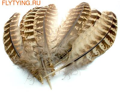 Veniard 53198 Маховые перья самки фазана Pheasant Hen Ringneck Wing Quills Natural